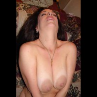 Very Big Areolas - Big Tits, Dark Hair, Large Breasts, Naked Girl, Nude Amateur