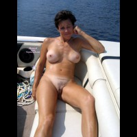 Mature Nude Full Frontal - Brown Hair, Brunette Hair, Hairy Bush, Milf, Naked Girl, Nude Amateur