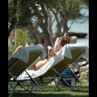 Crete, Sexy Pregnant Italian
