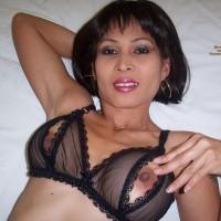 Nipple Peek - Black Hair, Brown Hair, Erect Nipples, Hard Nipple