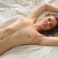 Very Sexy Nude Girl In Repose - Brown Eyes, Brown Hair, Long Hair, Hot Girl, Naked Girl, Nude Amateur, Sexy Body, Sexy Face, Sexy Figure