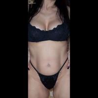 Topless Wife:Having Some Fun!