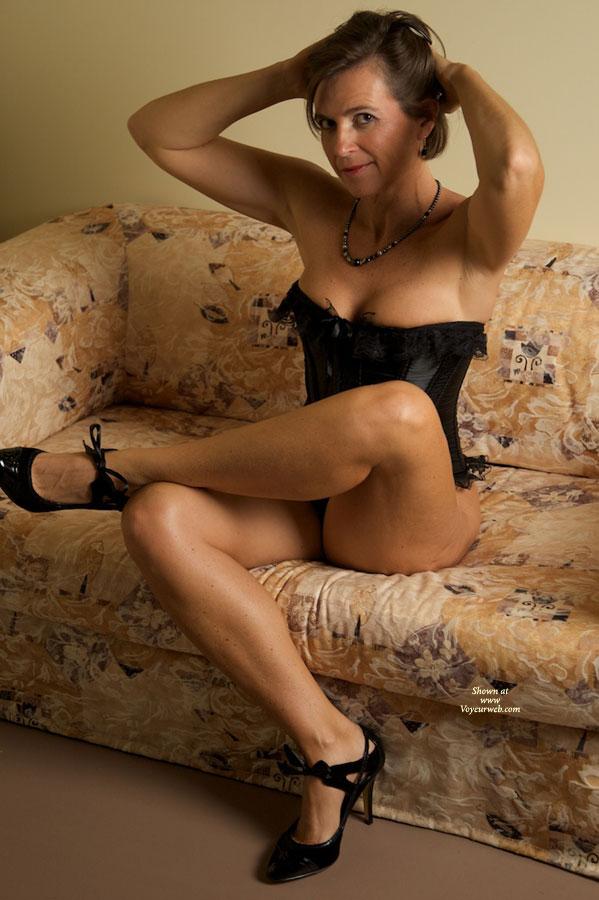 Pic #1 - Me in Lingerie:*LI Vanessa......Black Corset