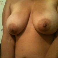 Topless Wife:M' Lady's Boobs