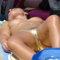 Voyeur Topless Girl On Beach - Brunette Hair, Topless Beach, Topless, Beach Tits, Beach Voyeur