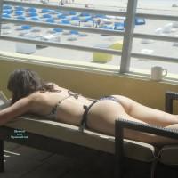 Wife in Swimwear:On The Balcony
