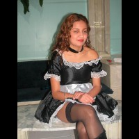 French Maid Bound And Toyed