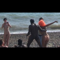 Beach Voyeur:Nude Beach Brighton