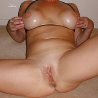 Wife Dani Shaved And Spread