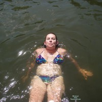 Nude Wife:*SP At The Lake