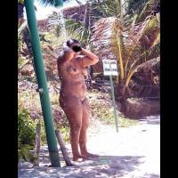 Beach Voyeur:Brasil: Fat Girl In Tambaba Beach