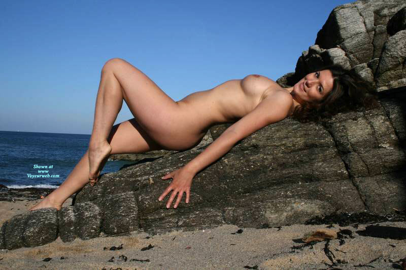 Pic #1 - Nude Ex-girlfriend - Naked Girl, Nude Amateur, Sexy Legs , Beach Bunny, Pretty Face, Knee Bent Upward, Smiling At Camera, Arched Back, Sexy Sea Nymph, Laid Back And Showing Sexy Body, Gorgeous Legs, Smiling Face, On The Rocks, Naked On The Rocks, Lying Flat On Rock, Sensuous Torso