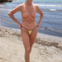 Nude Wife:First Time Nude In Public