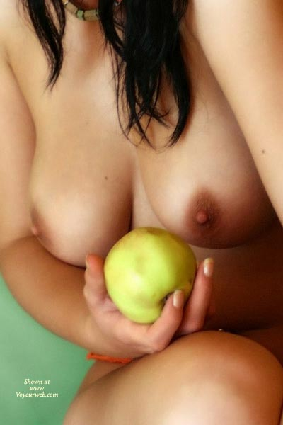 Pic #1 - Artistic Nude - Artistic Nude , Artistic Nude, Breasts With Food, Fresh Fruit, Classic Temptation, Breasts