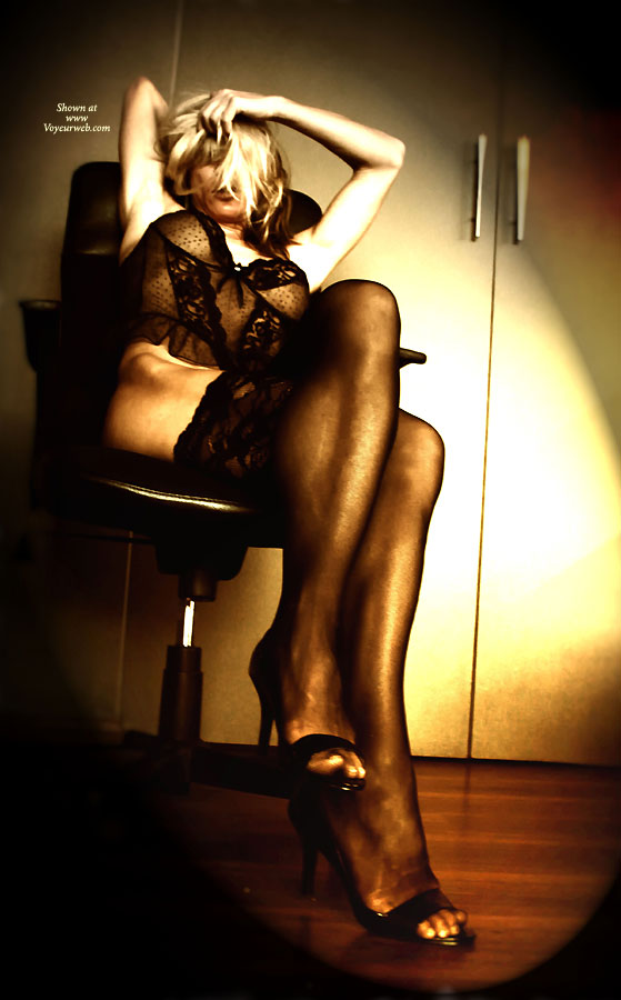 Pic #1 - Lace Stockings ... , Office Interrogation