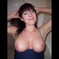 Large Breasts With A Smile - Big Tits, Dark Hair, Firm Tits, Large Breasts, Long Hair