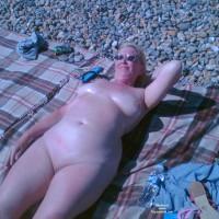 Wife Sunbathing Naked
