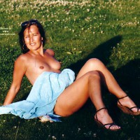 Outdoors - Erect Nipples, Nude Outdoors