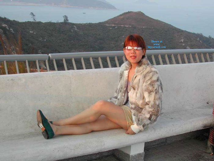 Pic #1 - Asian Wife Public Exposed , Took These Pictures A Few Years Ago,enjoy