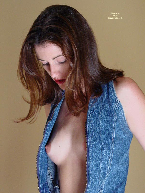 Pic #1 - Open Shirt - Artistic Nude, Erect Nipples, Flashing Tits , Open Shirt, Small Boob Exposed, Erect Nipples, Flashing Tits, Artistic Shot, Nipple Peek