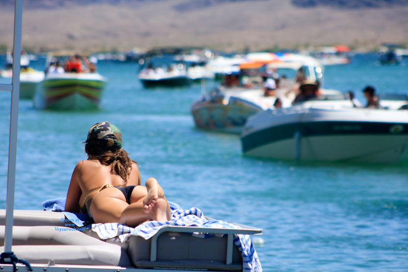 Pic #1 - Havasu Pasties , Lake Havasu....nudity Is Not Allowed, And Strictly Enforced.  But Pasties Are Legal...here's Just A Glimpse Of The Memorial Day Weekend...