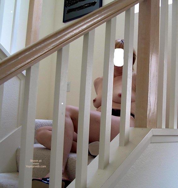 Pic #5 - On The Stairs