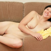 Nude Girl On Sofa Hairless Pussy - Shaved Pussy, Bald Pussy, Hairless Pussy, Naked Girl, Nude Wife