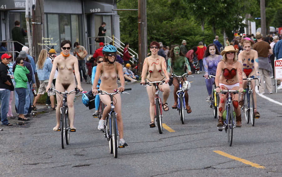 Pic #1 - Fremont Solistice Festival , Some Photos From Old Fremont World Naked Bike Rides