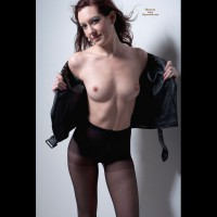 Model Stance - Erect Nipples, Small Tits, Naked Girl