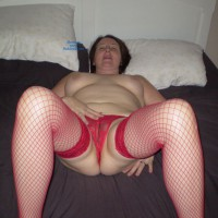 Uk Wife Fucked And Licked In Crotchless Panties