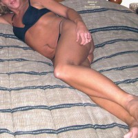 Hot Mother Of 2 On The Bed