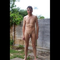 Chris E Naked Outside