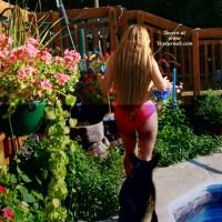*mp Belle In Backyard