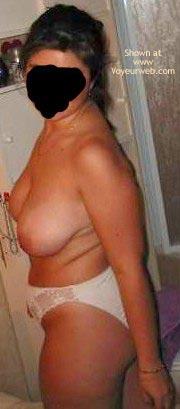 Pic #1 - Lisa In Bathroom