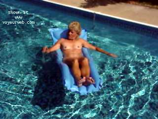 Pic #5 - Dianna in the Pool 3