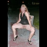 Amateur upskirt:*PU Up Skirt - Black Upskirt