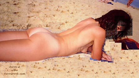 Pic #1 - Anaelle Erect on The Beach