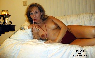 Pic #1 - Wife      @ 40 Ho Ho Ho pt2