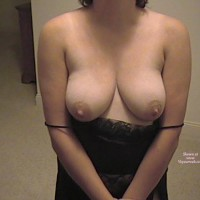 Wife Showing Some Boobs