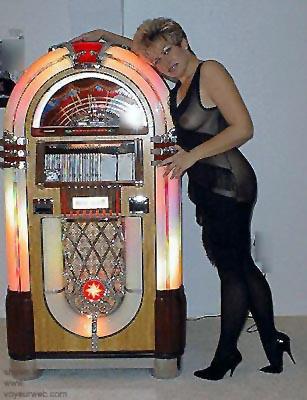 Pic #1 - Jen      in Game Room