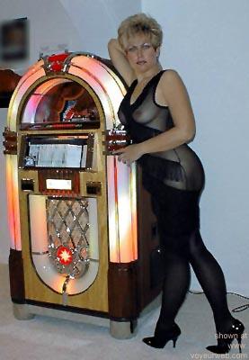 Pic #2 - Jen      in Game Room