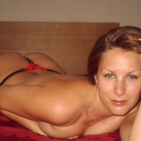 Laying On Bed - Lying Down, Naked In Bed, Looking At The Camera