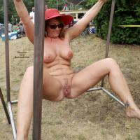 NAP 2012 - Big Tits, Blonde Hair, Brunette Hair, Exposed In Public, Heels, Nude Outdoors, Round Ass