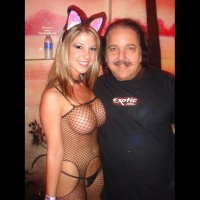 Ron Jeremy - Big Tits, Fishnet, G String, Sexy Panties