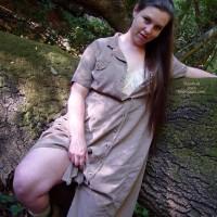Vicki'S Hairy Bush Outside