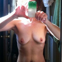 Very small tits of my wife - Kelly