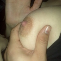 Small tits of my wife - Razzy