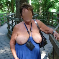Large tits of a neighbor - Sexy M
