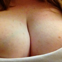Very large tits of my wife - Babe