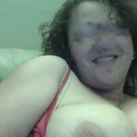 Large tits of my girlfriend - Ex-Cyber playmate